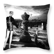 Fashion In Heaven Throw Pillow