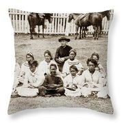 Father Damien (1840-1889) Throw Pillow