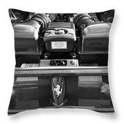 Ferrari 430 Scuderia Engine Throw Pillow