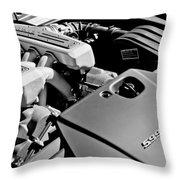 Ferrari 599 Gtb Engine  Throw Pillow