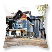 Festival Hill Throw Pillow