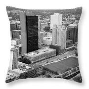 Fiberglass Tower Toledo Ohio Throw Pillow