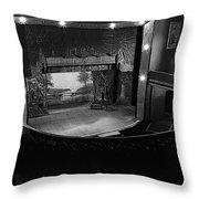 Film Homage Charles Foster Kane Orson Welles Citizen Kane 1941 Tabor Opera House 1 Leadville Co 1971 Throw Pillow