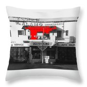 Film Homage Mickey Rourke Harley Davidson And The Marlboro Man 1991 Five Points Alamo Apartments Throw Pillow