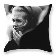 Film Noir Pat O'brien Crack-up 1946 Extra Funeral Young Billy Young Old Tucson Arizona 1968 Throw Pillow