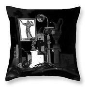 Film Noir Richard Widmark Night And The City 1950 1 Johnny Gibson Health And Gym Equipment Tucson Throw Pillow