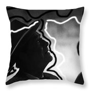 Film Noir Robert Taylor High Wall 1947 Death Valley Days Old Tucson Arizona 1967 Throw Pillow
