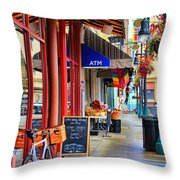 Findlay Market In Cincinnati 0006 Throw Pillow