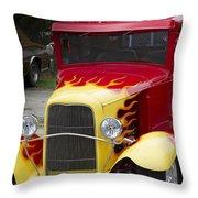 Fire Away Throw Pillow