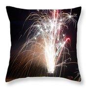 Fireworks 9 Throw Pillow