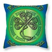 Fitzgerald Ireland To America Throw Pillow