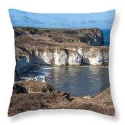 Flamborough Head Throw Pillow