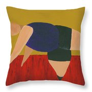 Floor Dancer 3 Throw Pillow