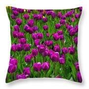 Floral Art Vi Throw Pillow