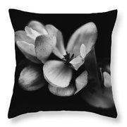 Flower Fine Art  Throw Pillow