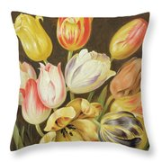 Flower Study Throw Pillow