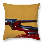 Flying Lady Throw Pillow