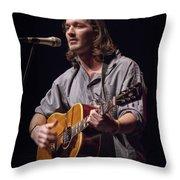 Folk Singer Griffen House Throw Pillow