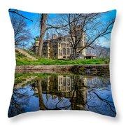 Fonthill Reflections Throw Pillow