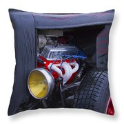 Ford And Ready Throw Pillow