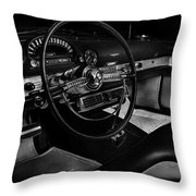 Ford Crestline Interior Throw Pillow