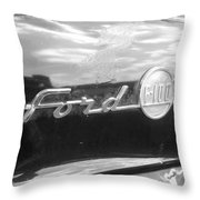 Ford F100 Throw Pillow