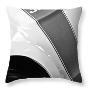 Ford Mustang Boss 302 Emblem Throw Pillow