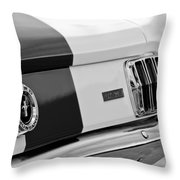 1966 Ford Shelby Mustang Gt 350 Taillight Throw Pillow