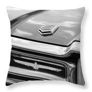 Ford Thunderbird Tail Lights Throw Pillow