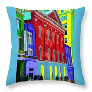 Fords Theatre Throw Pillow