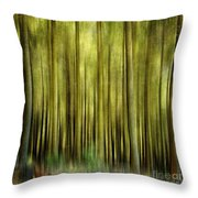 Forest Throw Pillow by Bernard Jaubert