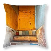 Forgotten Paths Throw Pillow