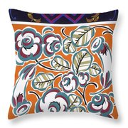 Formes Et Couleurs Throw Pillow