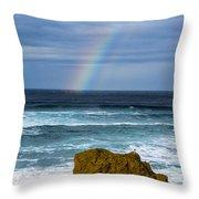 Fort Bragg Skies Throw Pillow