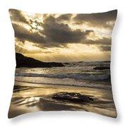 Fort Bragg Storm Throw Pillow