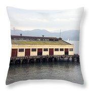 Fort Mason San Francisco Throw Pillow