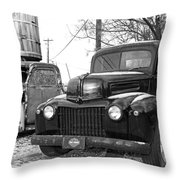 Forties Ford Pickup Throw Pillow