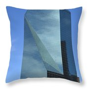 Fountain Place Building Throw Pillow