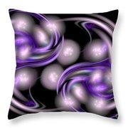 Fractal 062 Throw Pillow