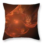 Fractal 065 Throw Pillow