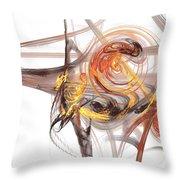 Fractal 066 Throw Pillow