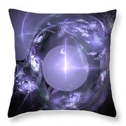 Fractal 067 Throw Pillow