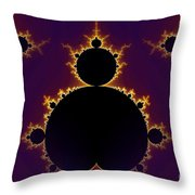 Fractal Mandelbrot Throw Pillow