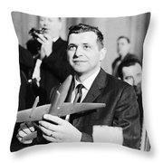 Francis Gary Powers (1929-1977) Throw Pillow
