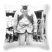 Francisco 'pancho' Villa (1878-1923) Throw Pillow