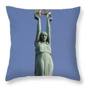 Freedom Monument Throw Pillow