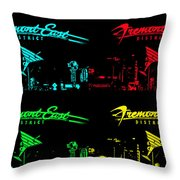 Fremont East Throw Pillow