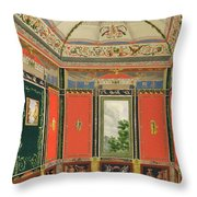 Fresco Decoration In The Summer House Throw Pillow