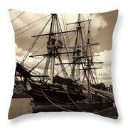 Friendship Of Salem Throw Pillow by Lourry Legarde