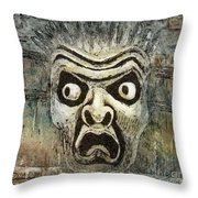 Fright Throw Pillow